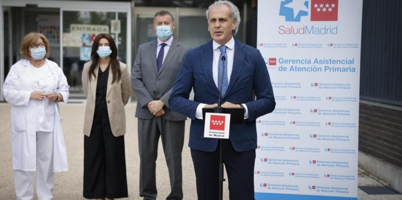 Enrique Ruiz Escudero anuncia un programa de Fisioterapia para pacientes poscovid