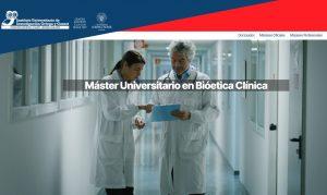 Máster Universitario en Bioética Clínica